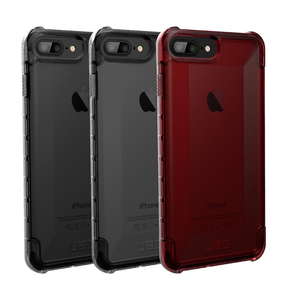 UAG iPhone 7/8 Plus 耐衝擊全透保護殼
