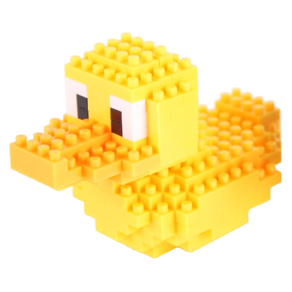 Yahoo 積木塑膠鴨-可愛黃