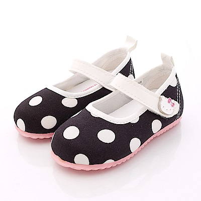 HelloKitty童鞋 普普風軟質娃娃鞋款 716210 黑 (小童段)T1