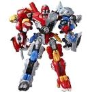 Biklonz 韓版炫風騎士第2代BEAST 雙重鬥士冰原狼+劍齒虎合體機器人