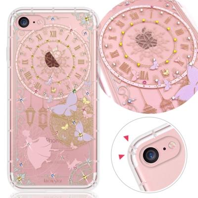 KnowStar APPLE IPhone 7 奧地利水晶彩繪防摔氣墊手機鑽殼-...