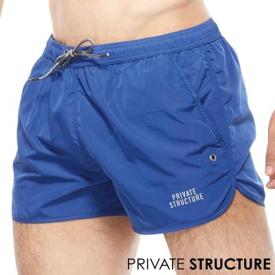 P.S天然系繫繩運動休閒短褲(藍色)
