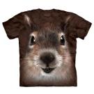 摩達客 美國進口The Mountain松鼠臉 純棉短袖T恤