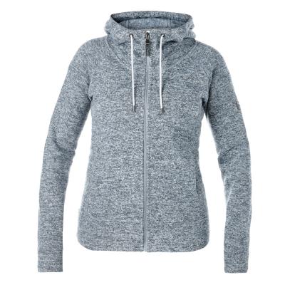 【Berghaus 貝豪斯】女款刷毛保暖纖維連帽外套H22FS5灰