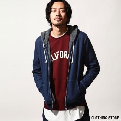 藍染連帽外套 日本男裝