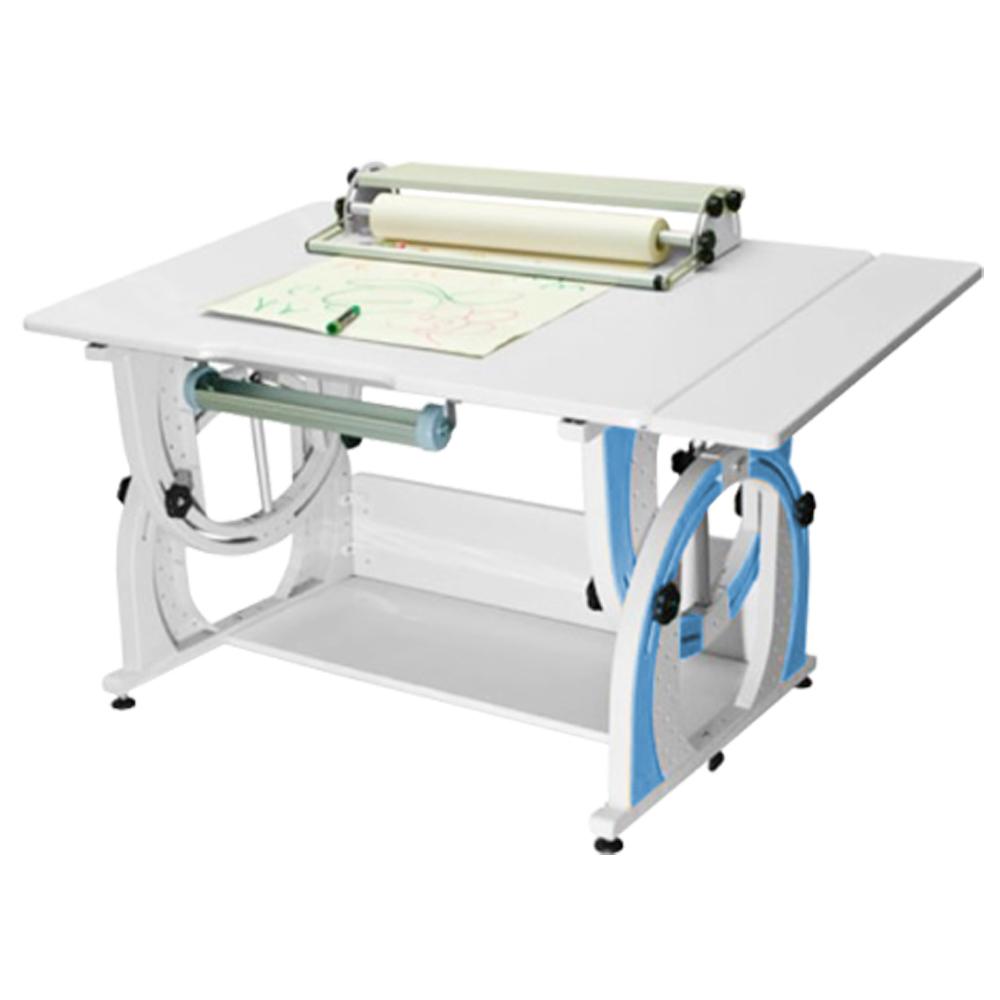 時尚屋 KIWI兒童成長加寬多功能繪圖筆槽書桌G115-AF
