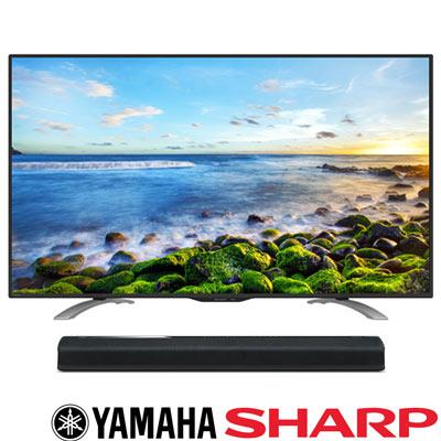 SHARP夏普 50吋 連網液晶 LC-50LE580T+Yamaha YAS-306