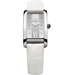Maurice Lacroix Fiaba 典雅華貴時尚鑽錶-白/20.9mm