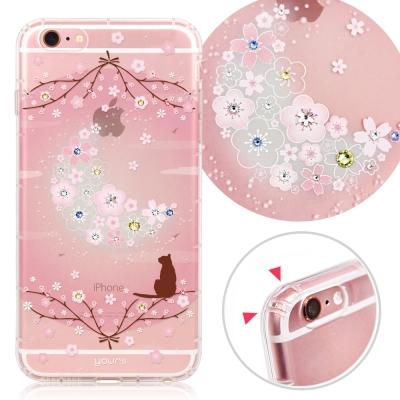 YOURS APPLE iPhone6s Plus 奧地利彩鑽防摔手機殼-月櫻谷