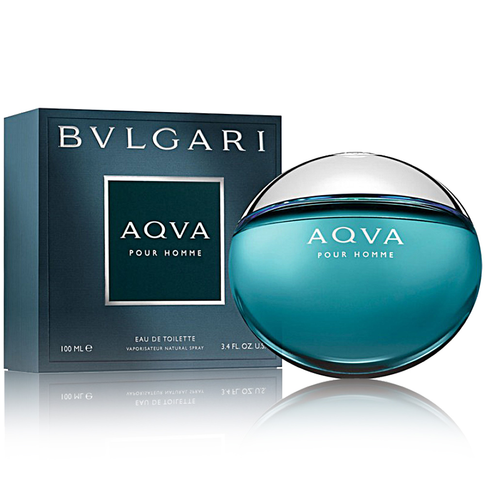 BVLGARI寶格麗 AQVA 水能量男性淡香水100ML