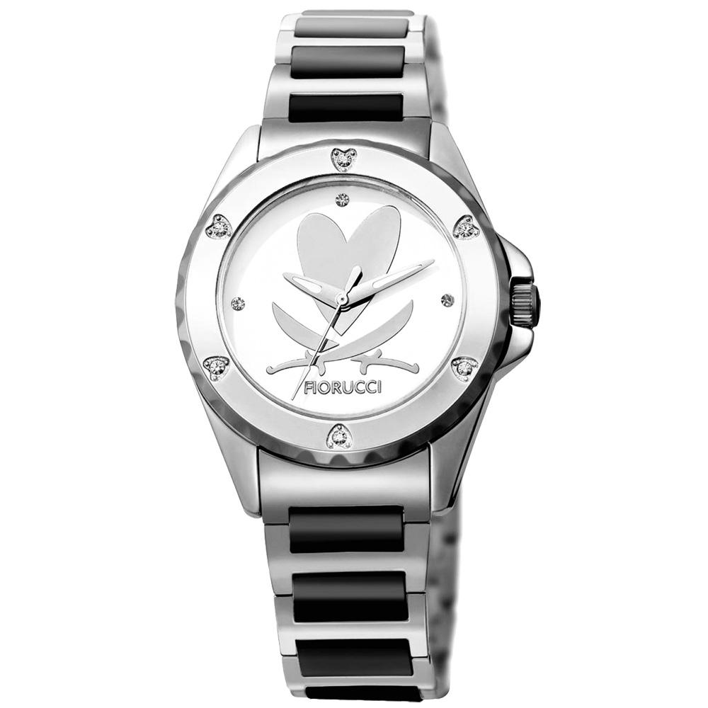 FIORUCCI 愛戀海盜陶瓷腕錶(黑/35mm)