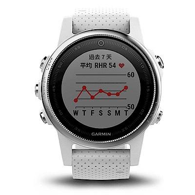 GARMIN fenix 5S 進階複合式戶外GPS腕錶