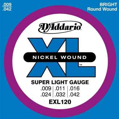 D'Addario EXL120 電吉他套弦