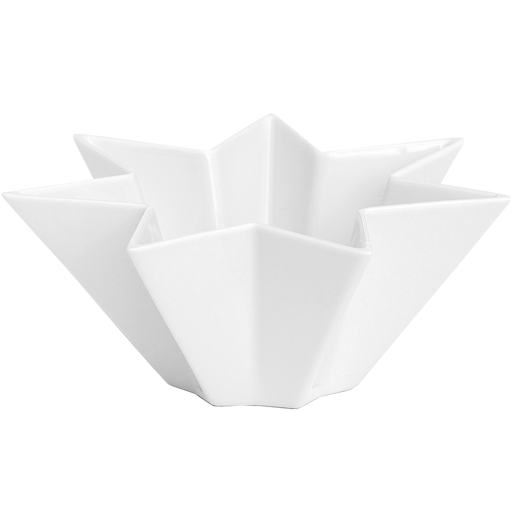 KAHLER Sirio星芒點心碗(白L)