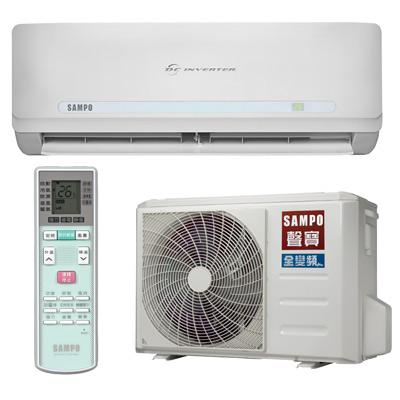 【福利品】SAMPO聲寶3-5坪精品變頻單冷冷氣 AM-QC22D/AU-QC22D