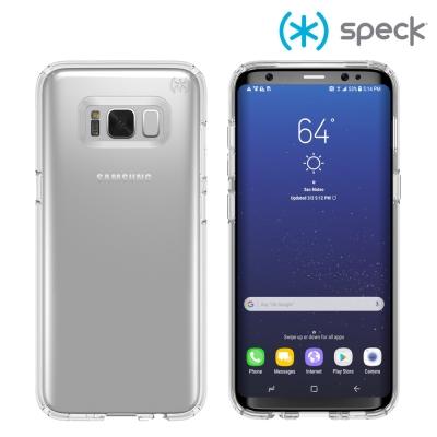 Speck Presidio Clear 三星 Galaxy S8 霧透防摔保護...