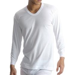 BVD 日本精紡交撚紗系列 U領8分袖上衣(白色) M/L