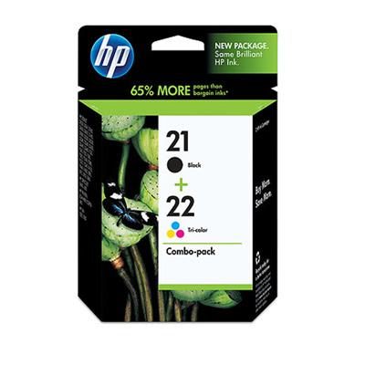 HP CC630AA NO.21+NO.22墨水匣組合包