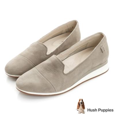 Hush Puppies WINDEE 輕量百搭健走鞋-褐色