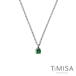 TiMISA《純鈦簡愛》(3色可選)純鈦項鍊(E)