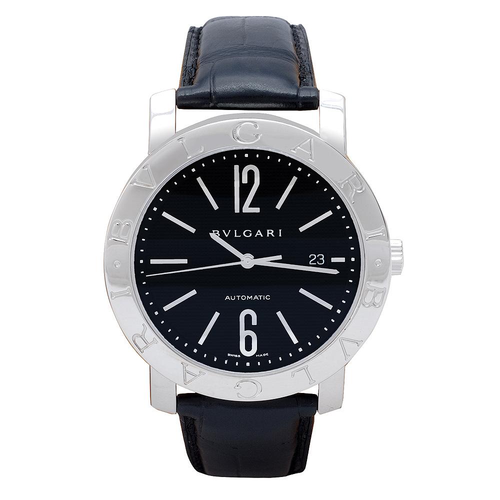 Bvlgari Bvlgari 系列自動上鏈機械腕錶-黑/42mm