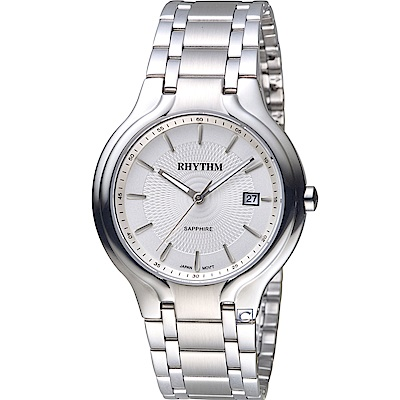 日本麗聲錶RHYTHM領袖風格時尚腕錶(G1401S01)-38mm