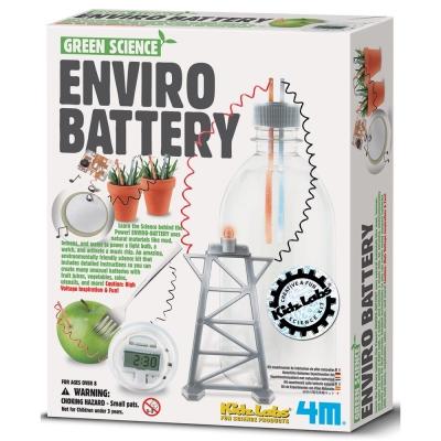 4M科學探索 環保電池Enviro battery