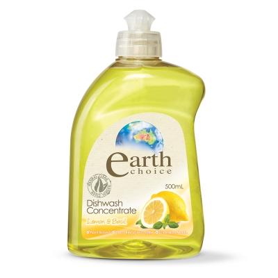 澳洲Natures Organics 植粹濃縮洗碗精(檸檬羅勒)500ml