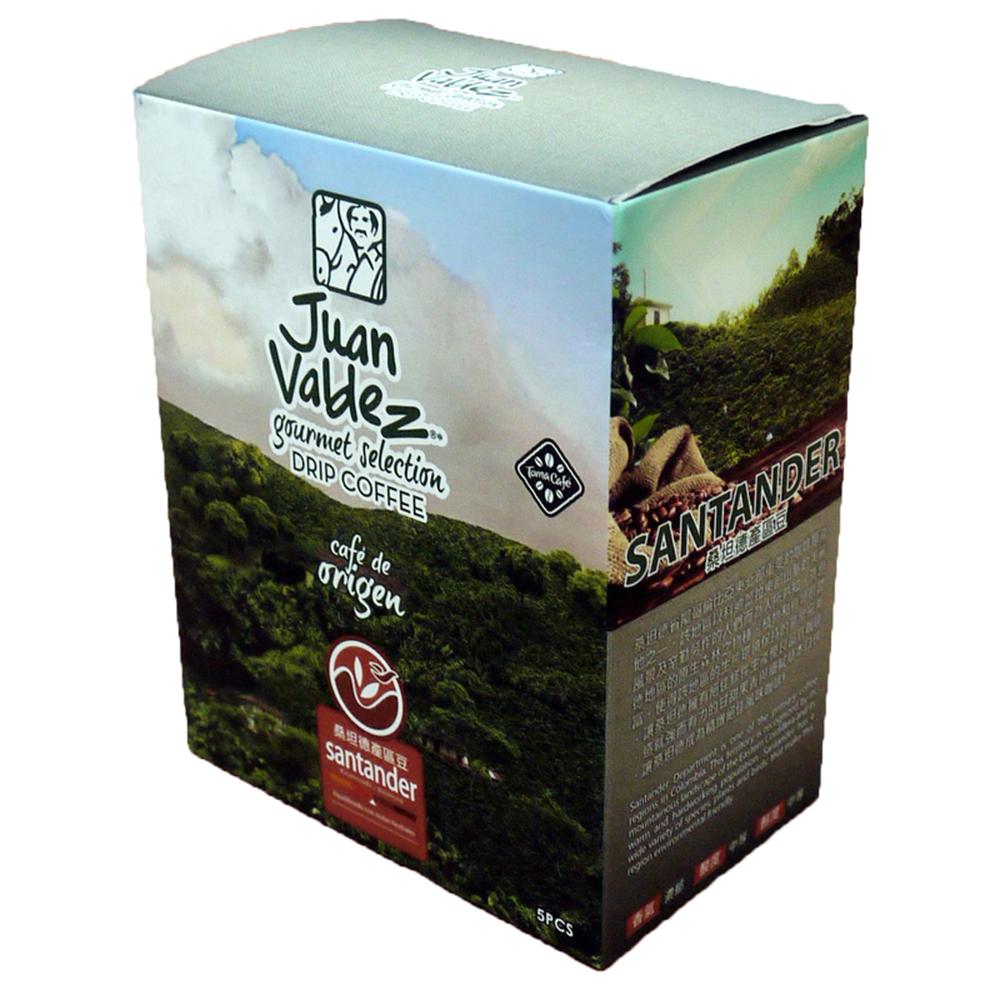 Juan Valdez胡安帝滋 濾掛咖啡-桑坦德(10gx5入)