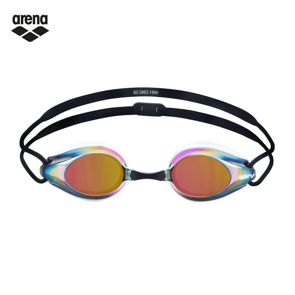 arena 競速電鍍泳鏡 AGG-280M WRBK