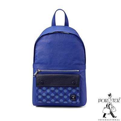 PORTER - 奇幻樂園 WONDER LAND輕巧後背包(XS) - 藍紫