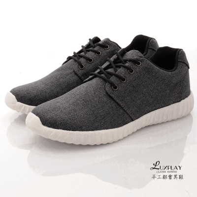 LUXPLAY男款流行多功能運動休閒鞋-KN9303黑