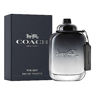 COACH 時尚經典男性淡香水100ml-快速到貨