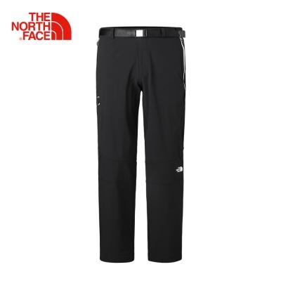 The North Face男款黑色DWR防潑水休閒褲