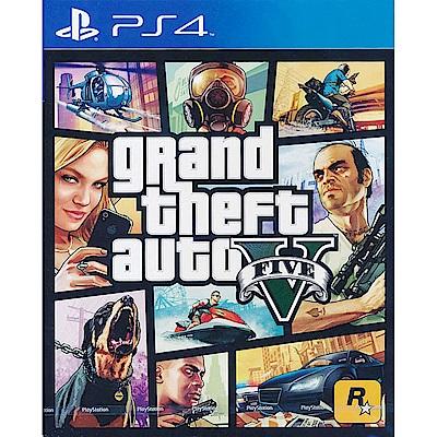俠盜獵車手 5 GTA5 (含20萬GTA5遊戲幣)- PS4 中英文亞版