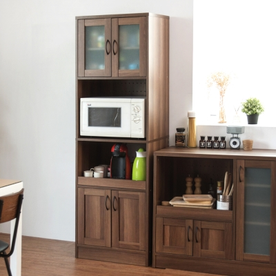Home Feeling 廚房櫃/電器架/廚房收納櫃-58X39.5X183cm