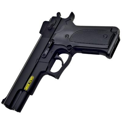 台製外銷版~M1911造型6mm彈徑手拉式空氣BB槍