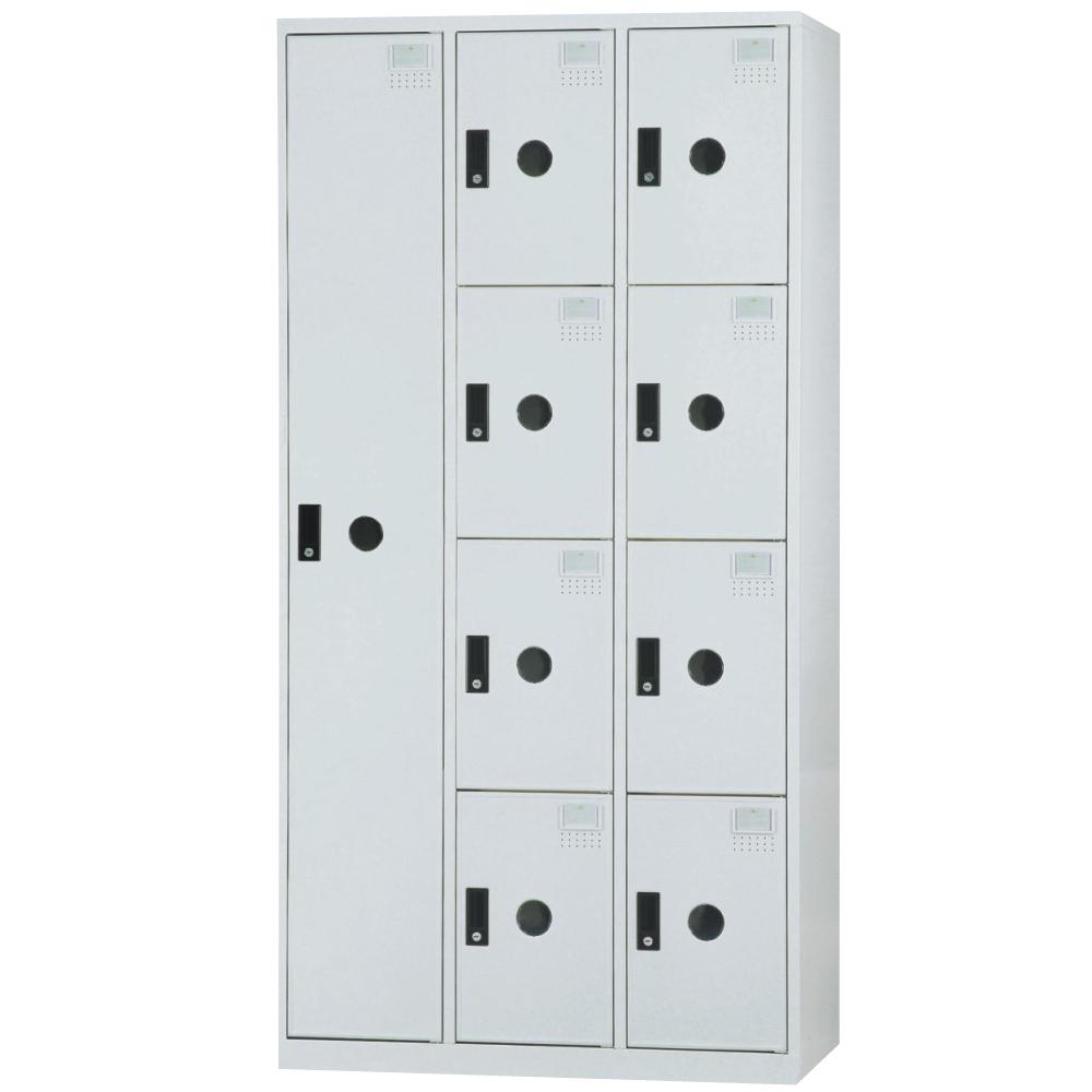 【時尚屋】DJ多用途塑鋼製辦公置物櫃9-10