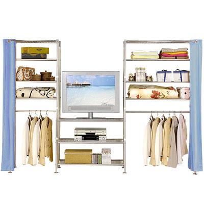 巴塞隆納─W4型60+90+90公分置物/收納/衣櫥架