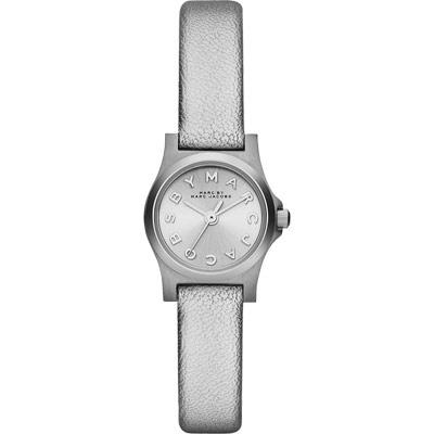 Marc Jacobs Henry 俏麗品牌女錶-銀/20mm
