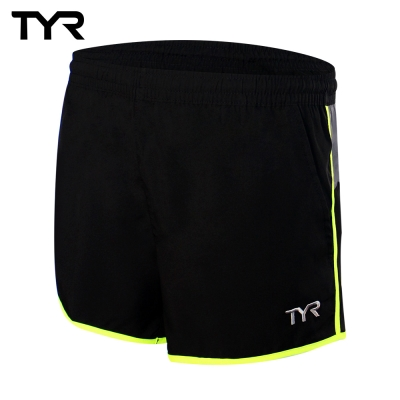美國TYR 男款透氣慢跑短褲 Phantom Running Shorts