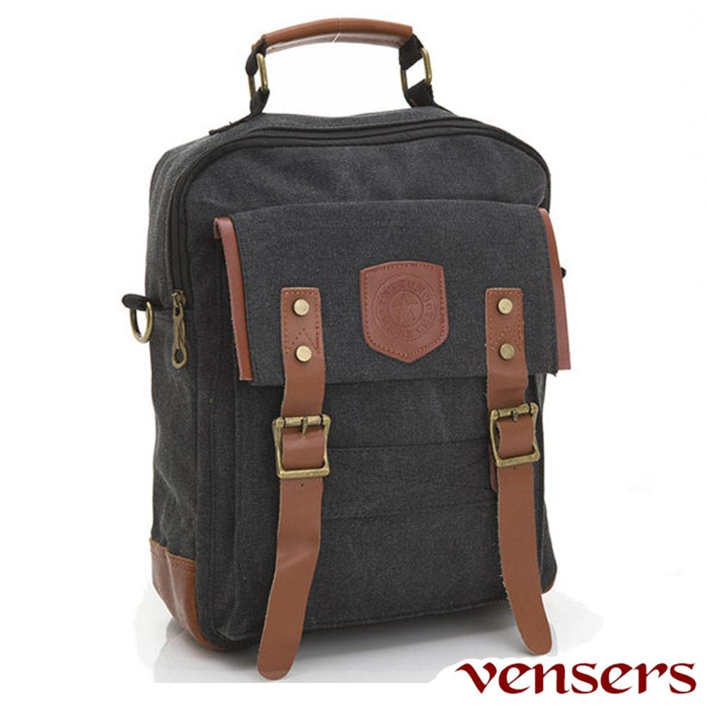 Vensers流行包款~後背包(D030101黑色)