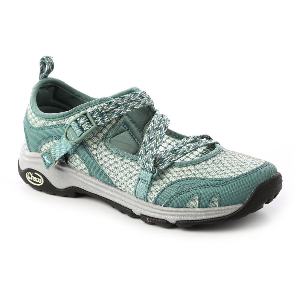 美國Chaco。女冒險運動水路鞋CH-ECW04HD61 (綠水鴛鴦) @ Y!購物