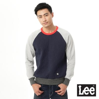 Lee Urban Rider 厚棉T恤-男款-灰/藍