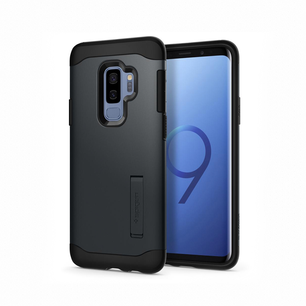 Spigen Galaxy S9+ Case Slim Armor複合式立架防震保護殼