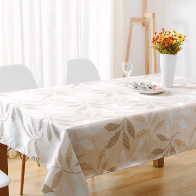 伊美居 - 春曉葉子防潑水桌巾 140cmX140cm 1件