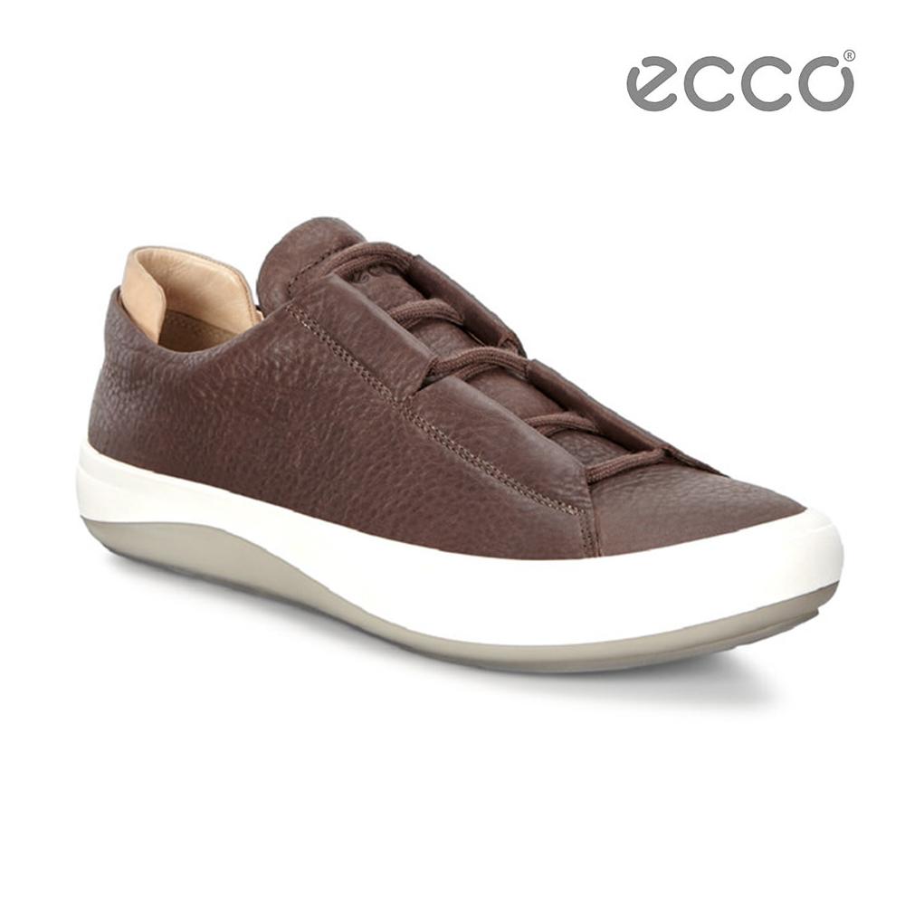 ECCO KINHIN 清新系列休閒鞋-咖啡