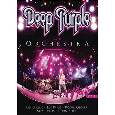 深紫色樂團與交響樂團 - 蒙特勒Live 2011 DVD