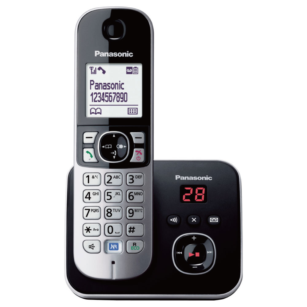 Panasonic 國際牌 KX-TG6821 DECT 數位答錄無線電話