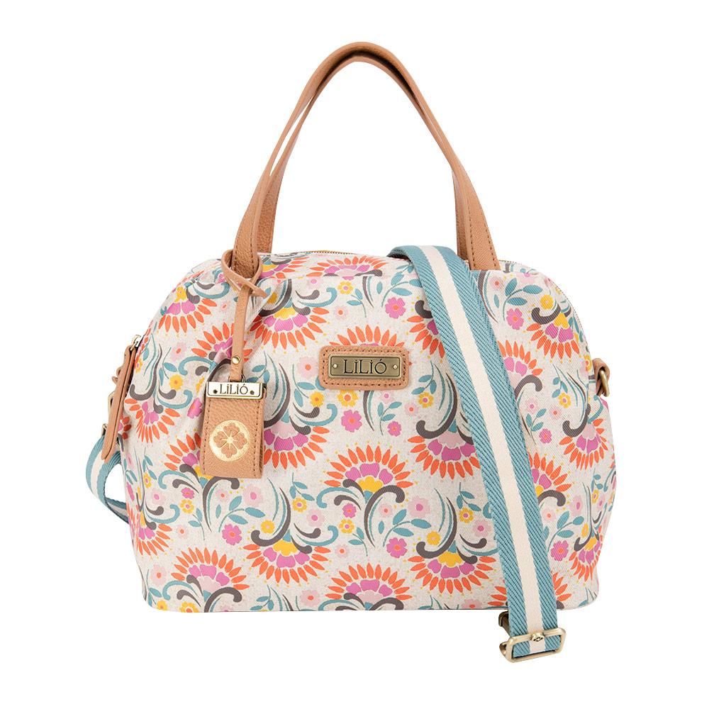 4695cede9b LiliO 側背包鬱金香復古印花S Handbag Cotton